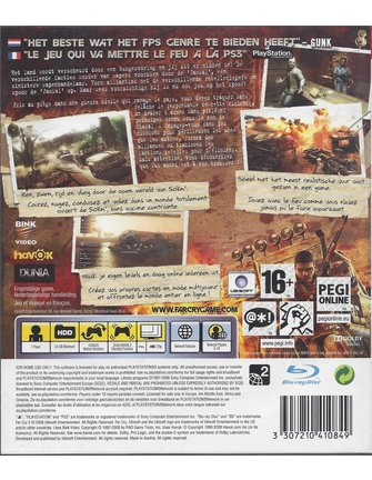 FAR CRY 2 voor Playstation 3 PS3