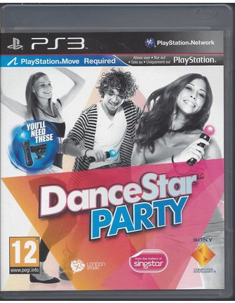 DANCESTAR PARTY voor Playstation 3 PS3 - PlayStation Move - NIEUW