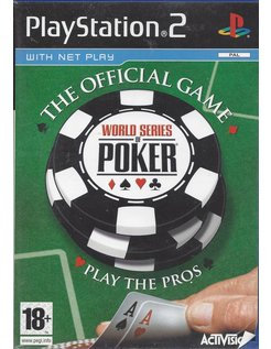 WORLD SERIES OF POKER voor Playstation 2 PS2