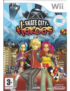 SKATE CITY HEROES for Nintendo Wii