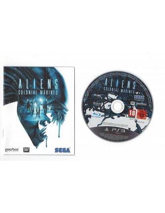 ALIENS COLONIAL MARINES voor Playstation 3 PS3