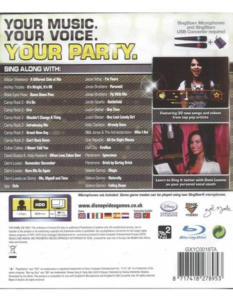 SING IT PARTY HITS for Playstation 3 PS3