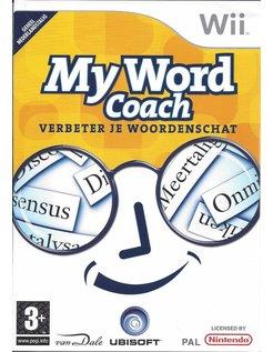 MY WORD COACH VERBETER JE WOORDENSCHAT voor Nintendo Wii