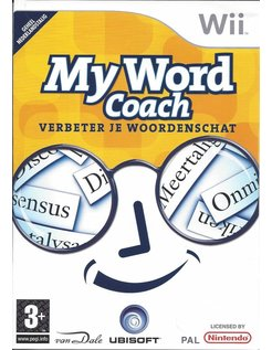 MY WORD COACH VERBETER JE WOORDENSCHAT für Nintendo Wii