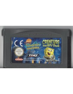 SPONGEBOB SQUAREPANTS CREATURE FROM THE KRUSTY KRAB voor Game Boy Advance GBA