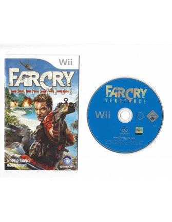 FAR CRY VENGEANCE voor Nintendo Wii