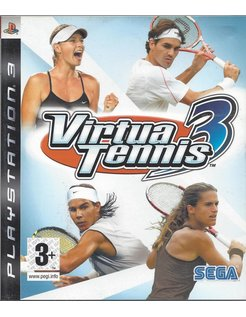VIRTUA TENNIS 3 für Playstation 3
