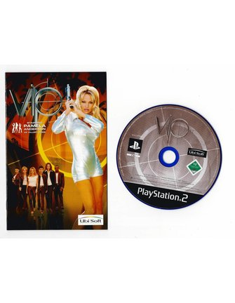 VIP starring PAMELA ANDERSON for Playstation 2 PS2