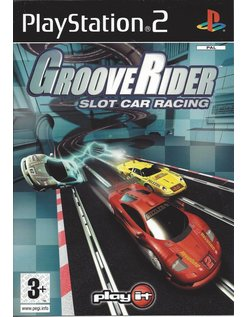 GROOVERIDER SLOT CAR RACING for Playstation 2 PS2