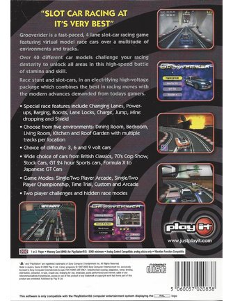 GROOVERIDER SLOT CAR RACING voor Playstation 2 PS2