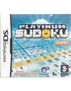 PLATINUM SUDOKU for Nintendo DS