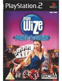 PLAYWIZE POKER AND CASINO voor Playstation 2 PS2