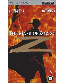THE MASK OF ZORRO  - UMD video for PSP