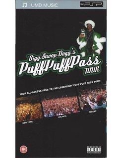 BIGG SNOOP DOGG'S PUFF PUFF PASS TOUR - UMD video voor PSP