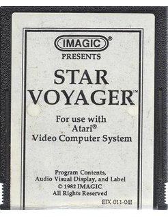 STAR VOYAGER for Atari 2600 - by Imagic