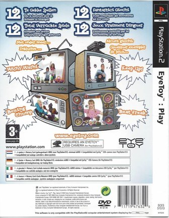 EYETOY PLAY voor Playstation 2 PS2