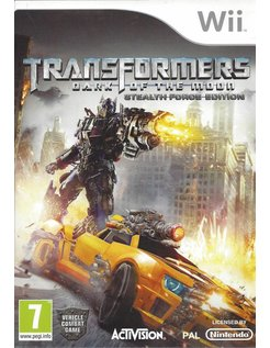 TRANSFORMERS DARK OF THE MOON - STEALTH FORCE EDITION voor Nintendo Wii