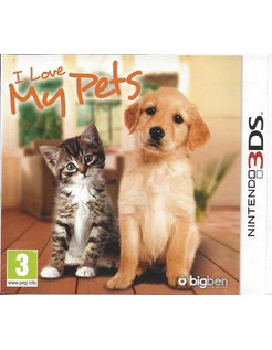 I LOVE MY PETS for Nintendo 3DS