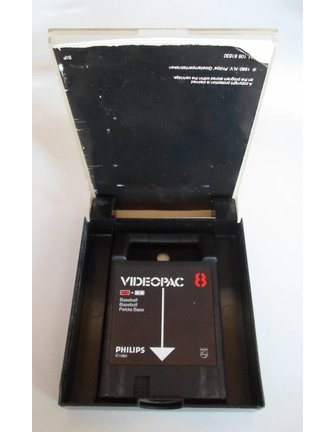 PHILIPS VIDEOPAC G7000 GAME 8 - BASEBALL