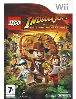 LEGO INDIANA JONES THE ORIGINAL ADVENTURES voor Nintendo Wii