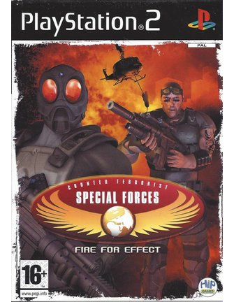 CT SPECIAL FORCES FIRE FOR EFFECT für Playstation 2 PS2
