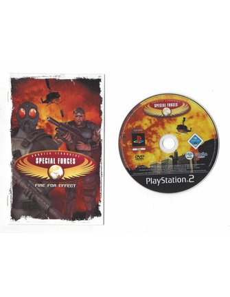CT SPECIAL FORCES FIRE FOR EFFECT voor Playstation 2 PS2