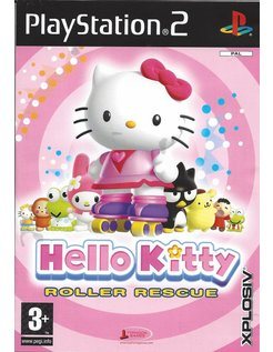 HELLO KITTY ROLLER RESCUE voor Playstation 2 PS2