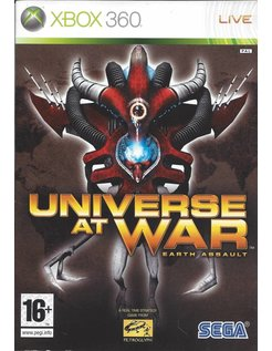 UNIVERSE AT WAR EARTH ASSAULT for Xbox 360