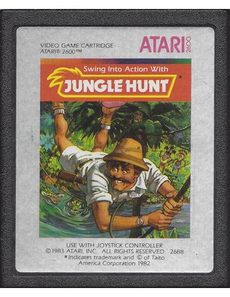 JUNGLE HUNT voor Atari 2600