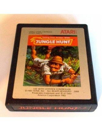 JUNGLE HUNT für Atari 2600