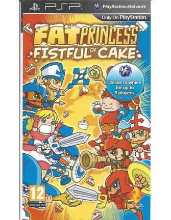 FAT PRINCESS FISTFUL OF CAKE voor PSP
