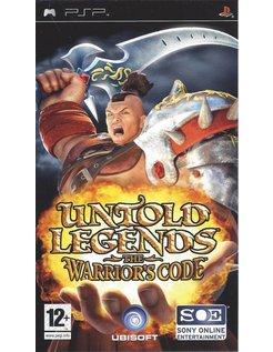 UNTOLD LEGENDS THE WARRIOR'S CODE für PSP