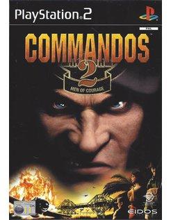 COMMANDOS 2 MEN OF COURAGE voor Playstation 2 PS2