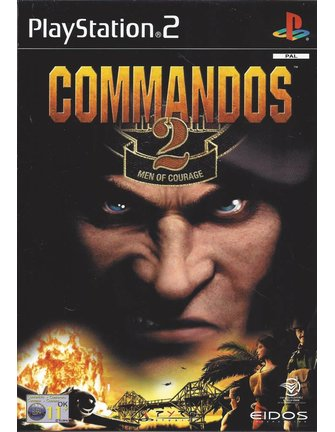 COMMANDOS 2 MEN OF COURAGE für Playstation 2 PS2