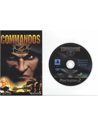 COMMANDOS 2 MEN OF COURAGE voor Playstation 2 PS2