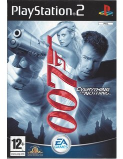 JAMES BOND 007 EVERYTHING OR NOTHING for Playstation 2 PS2