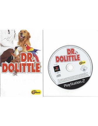 DR. DOLITTLE für Playstation 2 PS2 - Anleitung in NL FR