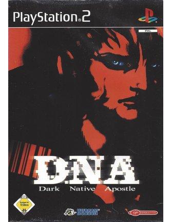DNA DARK NATIVE APOSTLE für Playstation 2 PS2 - Anleitung auf Deutsch