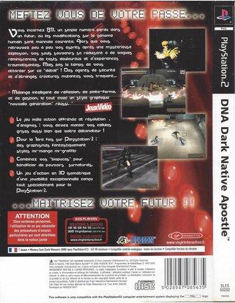 DNA DARK NATIVE APOSTLE für Playstation 2 PS2 - Anleitung auf Französisch