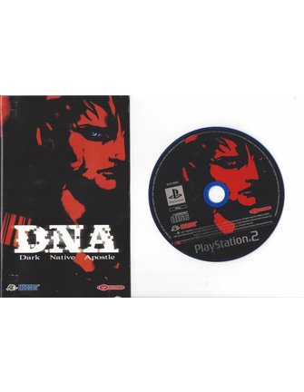 DNA DARK NATIVE APOSTLE voor Playstation 2 PS2 - manual in Frans