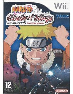 NARUTO CLASH OF NINJA REVOLUTION - EUROPEAN VERSION für Nintendo Wii