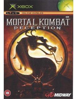 MORTAL KOMBAT DECEPTION voor Xbox