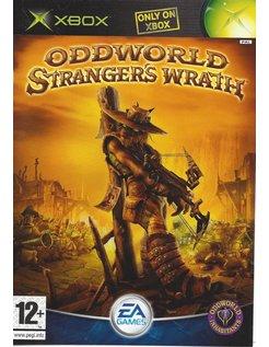 ODDWORLD STRANGER'S WRATH for Xbox - manual in EN