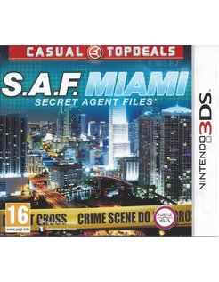 SECRET AGENT FILES S.A.F. MIAMI for Nintendo 3DS