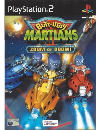 BUTT-UGLY MARTIANS ZOOM OR DOOM für Playstation 2 PS2