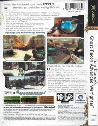 GHOST RECON ADVANCED WARFIGHTER voor Xbox