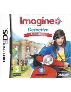 IMAGINE DETECTIVE ADVENTURES for Nintendo DS