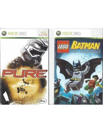 PURE/LEGO BATMAN DOUBLE PACK voor Xbox 360