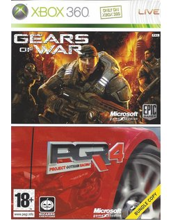 GEARS OF WAR/PGR 4 DOUBLE PACK for Xbox 360
