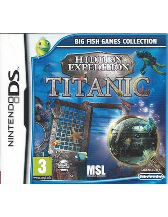 HIDDEN EXPEDITION - TITANIC for Nintendo DS